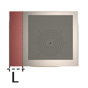 dettaglio Predĺženie vľavo (mm)