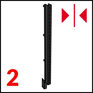 dettaglio Black (L+R) mm