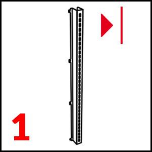 dettaglio Stainless steel (Left) mm