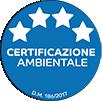 certificazione Certificazione ambientale 4 stelle