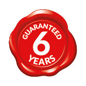 certificazione 6-ročná záruka
