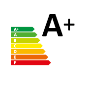 certificazione Energy label A+