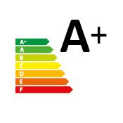 certificazione Energy label A+