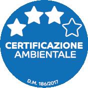 Certificazione ambientale 3 stelle