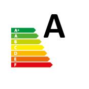 certificazione Energy label A