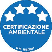 Certificazione ambientale 4 stelle