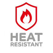 certificazione Heat resistant