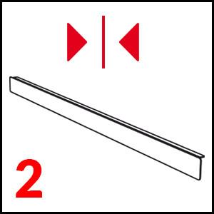 dettaglio Profil pre ľavý-pravý plán