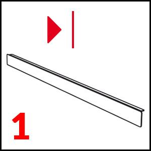 dettaglio Profil pre ľavý plán