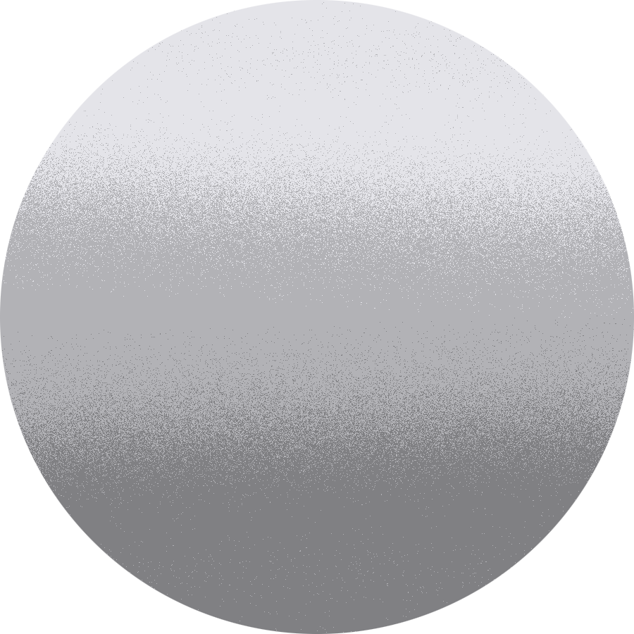 dettaglio Strieborný (s metalízou)