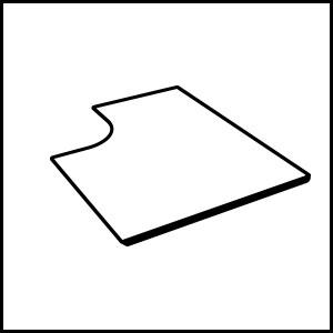 dettaglio Nerezová strecha pre krb nad ľavou