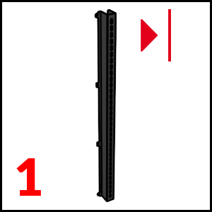 dettaglio Left section bar Black