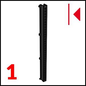 dettaglio Right section bar Black
