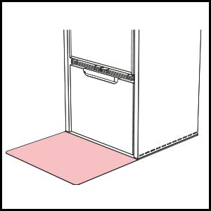 dettaglio Platňa na zakrytie podlahy (stainless steel)
